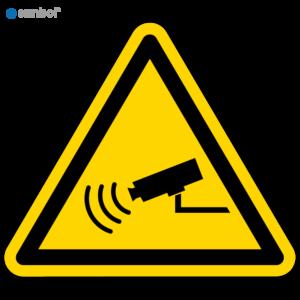 Simbol Pictogram Camerabewaking