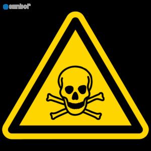 Simbol Pictogram Giftige stoffen (W016)
