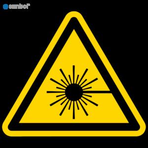 Simbol Pictogram Laserstraal (W004)