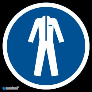 Simbol Pictogram Beschermende kleding verplicht