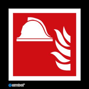Simbol - Stickers Brandbestrijdingsmiddelen - (F004) - Duurzame Kwaliteit