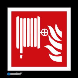 Simbol - Stickers Brandslang - Blusslang - Brandhaspel (F002) - Duurzame Kwaliteit