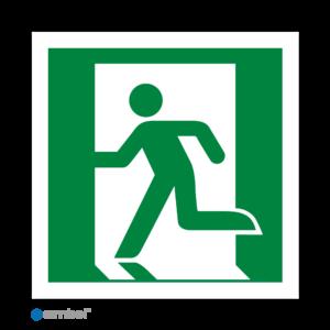 Simbol Pictogram Nooduitgang Links (E001)