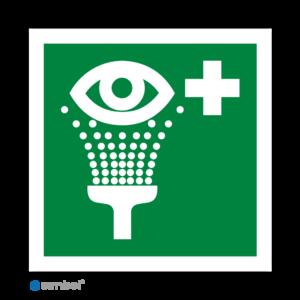 Simbol - Stickers Oogdouche - Oogspoeldouche (E011) - Duurzame Kwaliteit