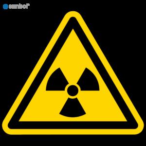 Simbol Pictogram Radioactieve stoffen (W003)