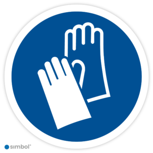 Simbol Pictogram Veiligheidshandschoenen verplicht