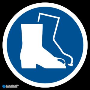 Simbol Pictogram Veiligheidsschoenen verplicht