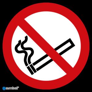 Simbol - Stickers Verboden te Roken - Rookverbod - Niet Roken Sticker - Duurzame Kwaliteit