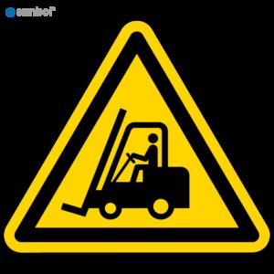 Simbol Pictogram Transportvoertuigen (W014)
