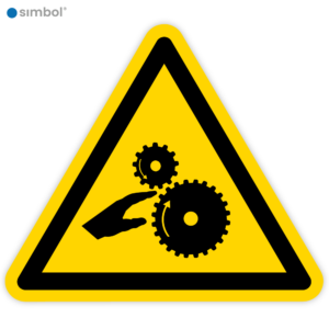 Simbol - Stickers Draaiende Delen of Tandwielen - Duurzame Kwaliteit