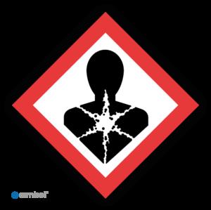 Simbol - Sticker GHS08 Gezondheidsgevaarlijk - Health-Damage - Duurzame Kwaliteit