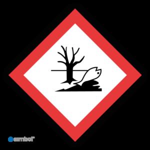 Simbol - Sticker GHS09 Milieu Gevaarlijk - Environmental Danger - Duurzame Kwaliteit
